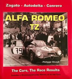 Book/Livre Alfa Romeo TZ - More than 320 pages