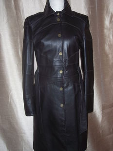 Karen Millen - England Raincoat Leather