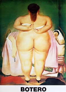 Fernando Botero - The Morning After