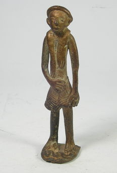 Figurine bronze Shiva ? - Himachal Pradesh, India - 18th / 19th century