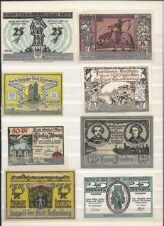 Germany - 200 emergency currency notes - 1916/1923
