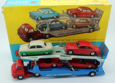 Corgi Major Toys - Scale 1/43-1/48 - Gift Set No.1 - Carrimore Transporter Set with 4 cars