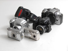 Lot : cameras for collection or parts