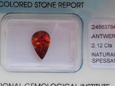 Spessartite Garnet – 2.12 ct