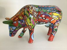 Cow Parade-Cowparade-Brenner Mooters-medium-ceramic and RETIRED