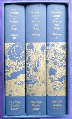 Vincent van Gogh - The Complete Letters of Vincent Van Gogh. With reproductions of all the drawings in the correspondence - 3 vols - 1988