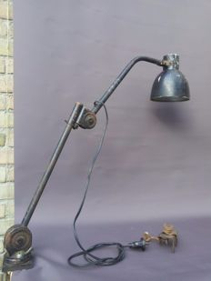 Hala Zeist, industrial desk lamp