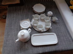 Rosenthal coffee service for 6 persons