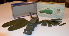 Dinky Supertoys-France - Scale 1/48 -  Brockway Army Truck with Vlotbrug No.884