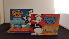 Disney, Walt – Complete Daily Newspaper Comics 1 + 2 + The Disney Poster + Encyclopedia of Animated Characters – Hardcover– 1st edition (1993/2015)