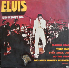 The Legends of Rock  17 LP's & 3 Double Albums with Elvis Presley - Brenda Lee - Sandy Nelson  - Duane Eddy - Burt Blanca - Shakin' Stevens - Chubby Checker and many More.