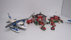 City / Classic Town - 7 sets o.a. 7723 + 6382 - Police Pontoon Plane + Fire Station