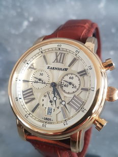 Thomas Earnshaw Longcase– men's wristwatch – unworn