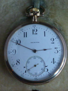 Zenith pocket watch, around 1920