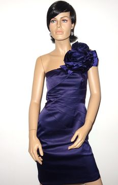 Karen Millen - Signature Corsage Dress, one shoulder with stunning corsage , no minimum price