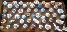 Large collection of 51 vintage ceramic potpourri holder instant collection
