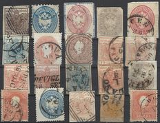 Italy Lombardy & Veneto, lot of stamps, Sassone 1 - 44