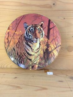 """A collection 9 collectable plates from the limited editions of """"Hamilton collections"""" The Bradford Exchange Collection, Franklin Mint Collection & The Fleetwood Collection."""