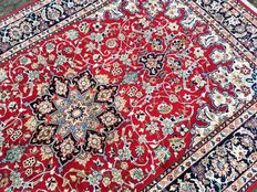 A clean Persian TABRIZ, handwoven - with certificate of authenticity - approx. 376 x 252 cm