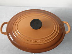 ' Le Creuset ' a beautiful oval cooking pot and a round cooking pot 'Nomar'