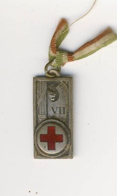 Red Cross medal, Italy