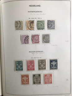 The Netherlands 1852/1945 - extensive collection in old binder