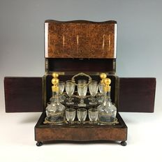 Tantalus or a travelling bar - Germany, 19th/20th century