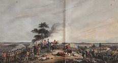 The Campaign of Waterloo, Illustrated with Engravings of les Quatre Bras, la Belle Alliance, Hougoumont, la Haye Sainte, and Other Principal Scenes of Action - 1816