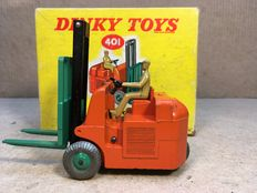 Dinky Toys - Scale 1/38 -  Coventry Climax  Fork Lift Truck No.401