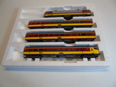 """Lima H0 - 149817AC - Electric 4-piece passenger train unit """"ICR Benelux"""" 2nd class of the NS"""