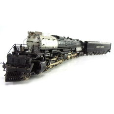 "Rivarossi H0 - 1254 - Steam locomotive with pulled tender ""Big Boy"" Classe 4000 of Union Pacific"