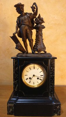 Napoleon III clock from the late 19th century