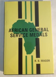 R.B. Magor - African General Service Medals - 1993
