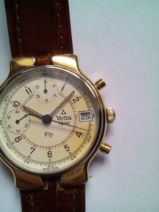 Vetta Incaflex Fly, men's chronograph, 1980s