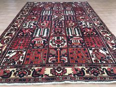 Timeless, Persian Bachtiar with field patterns (field garden pattern) - approx. 318 x 219 cm