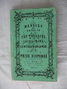 Travels, Scotland - Menzies - Guide to the Trosacks, the Scottish Lakes - 1855