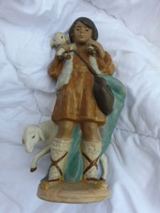 Lladro - Shepherd with sheep