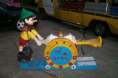 Pinocchio seesaw kiddy ride