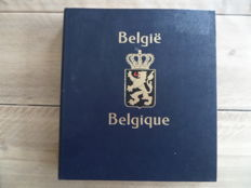 Belgium 1865/1949 – Collection of stamps and blocks in Davo I album