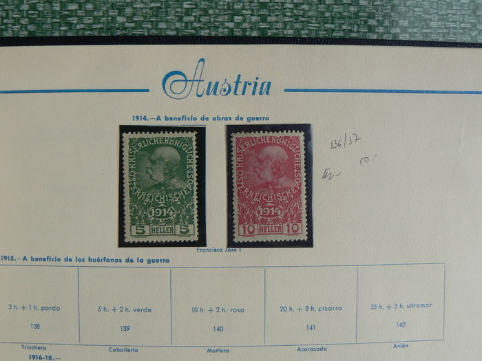 Austria 1850/1984 – Collection in album