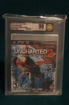 Uncharted 2: Among Thieves (Sony Playstation 3) NTSC US VGA GOLD 90