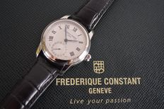 Frédérique Constant Geneva  - Automatic mod.710 – Men's – 2014 - Swiss-Made - Date at 6 o'clock - Folding Buckle.