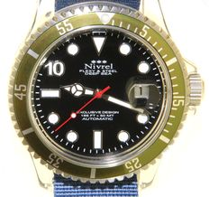 "Nivrel ""Deep Sea'' - Unisex wristwatch"
