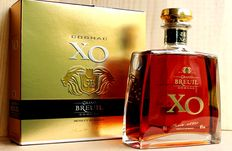 Grand Breuil X.O. Cognac - 1 bottle, including original box, 70cl, 40%vol, 25 Years old