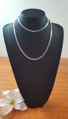 Silver necklace, 925kt