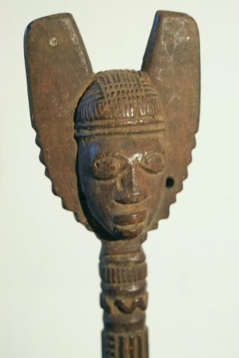 Oshe Shango with Double face - YORUBA -Nigeria
