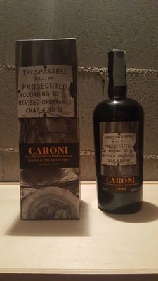 Rum Caroni Trinidad 1996 Full Proof - Bottled by Velier