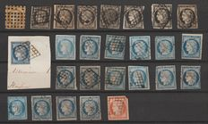 France 1849/1874 – Collection of classic