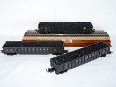 Märklin H0 - 47741 - Three pieces Gondola set Erie Lackawanna