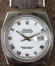 Rolex OysterQuartz  Date Just Men's Wristwatch